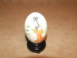 Hand Painted Egg - Japanese - On Stand - Boxed - Vintage - Vintage Retro And Vinyl - 2