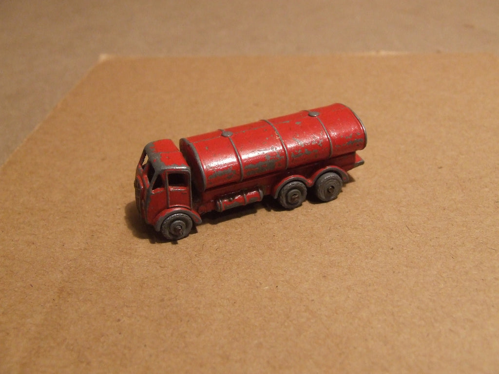 Lesney ERF Tanker No 11 Playworn No Box - Vintage Retro And Vinyl - 1