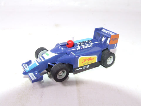 Micro Scalextric Benetton F1 Car Slot Car