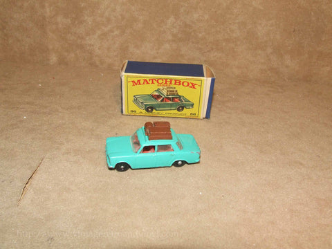 Lesney Matchbox Series Fiat 1500 Boxed No 56b Regular Wheels Vintage 1960's - Vintage Retro And Vinyl - 1
