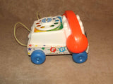 Fisher Price Chatter Telephone 1961 Full Working Order ~ Toy Story 3 - Vintage - Vintage Retro And Vinyl - 4