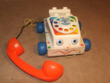 Fisher Price Chatter Telephone 1961 Full Working Order ~ Toy Story 3 - Vintage - Vintage Retro And Vinyl - 9