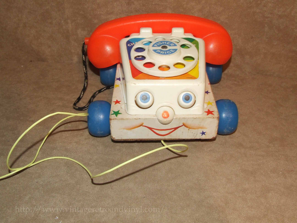 Fisher Price Chatter Telephone 1961 Full Working Order ~ Toy Story 3 - Vintage - Vintage Retro And Vinyl - 1