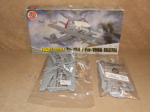 Focke Wulf TA 154 And FW190A Mistel By Airfix 1:72 # A05040 Contents Sealed - Vintage Retro And Vinyl - 1