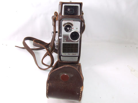 Bell & Howell 624EE Autoset Cine Camera In Leather Case