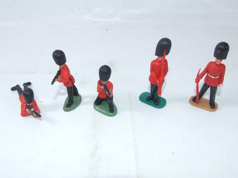 Grenadier Guards Plastic Toy Soldiers Timpo & Britains