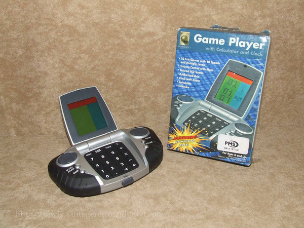 Game Player With Calculator & Clock Boxed - Innovage - Vintage Retro And Vinyl - 1