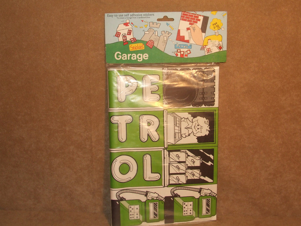 Stickies Garage Brand New In Sealed Bag ELC Vintage 1970's 1980's Old Shop Stock - Vintage Retro And Vinyl - 1