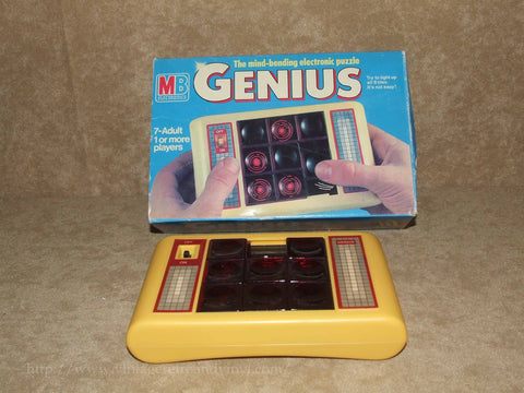 Genius - MB Games - Boxed & Working - 1980 - Vintage - Vintage Retro And Vinyl - 1