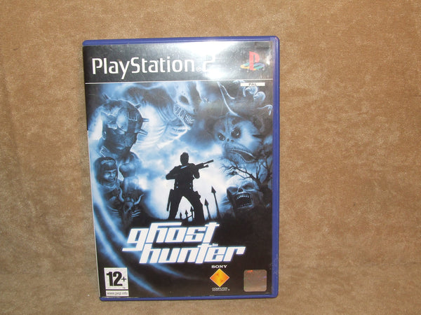 Ghost Hunter Sony Playstation 2 PS2 3rd Person Shooter Manual 2003 - Vintage Retro And Vinyl - 1