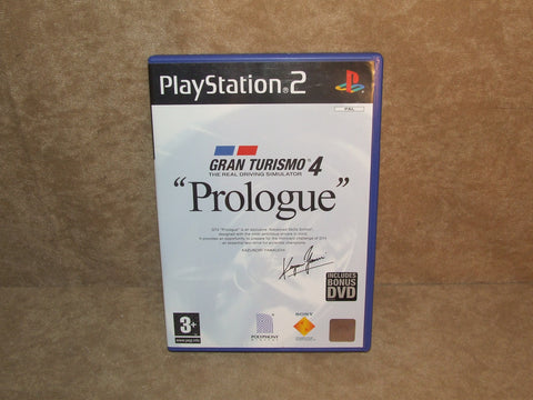 Gran Turismo 4 Prologue Sony Playstation 2 PS2 Racer With Bonus Disc - Vintage Retro And Vinyl - 1