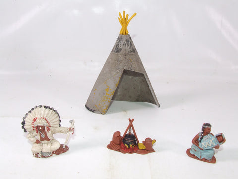 Herald Toys Native American Indians Made In England
