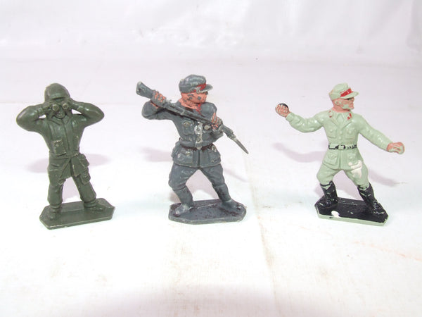 "Lone Star ""Harvey"" Series WWII Plastic Toy Soldiers"