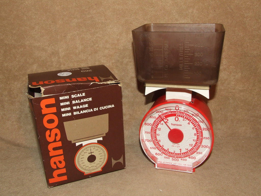 Hanson Mini Scales # 269 Vintage Boxed And Complete Working - Vintage Retro And Vinyl - 1