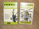Combat Helicopters Ace Fact Pack New Cards Sealed - Vintage 1980's - Vintage Retro And Vinyl - 2