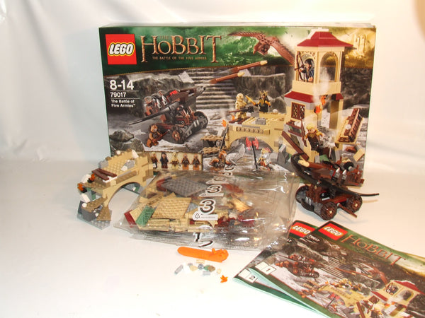 LEGO The Hobbit The Battle Of The Five Armies Boxed Part Sealed No Figs 79017