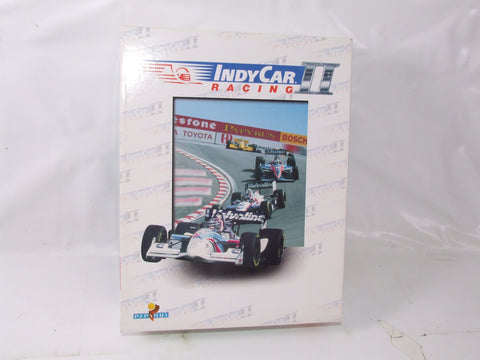 IndyCar Racing II Pc CD-Rom Video Game Big Box With Manual