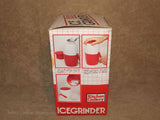 Manual Ice Grinder - Boxed - Kitchen Gallery - Vintage/Retro Made In Hong Kong - Vintage Retro And Vinyl - 12