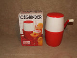 Manual Ice Grinder - Boxed - Kitchen Gallery - Vintage/Retro Made In Hong Kong - Vintage Retro And Vinyl - 1