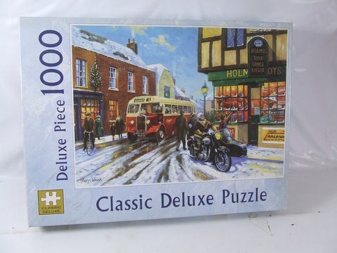 Classic Deluxe 1000 Piece Retro Vintage Theme Jigsaw Puzzle Window Shopping