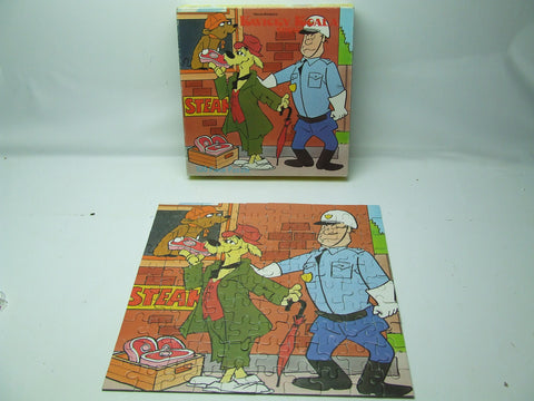 Kwicky Koala Show Jigsaw Puzzle Hanna Barbera TV Show Boxed And Complete Vintage