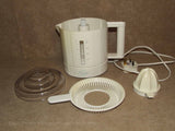 Electric Juicer 1 Litre Capacity - Cascade Model CE861 20W - 1990's - Vintage Retro And Vinyl - 2