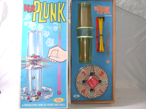 Kerplunk Family Fun Game Boxed 1967
