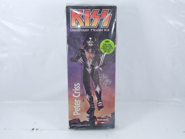 Kiss Destroyer Model Kit Peter Criss Polar Lights New Sealed