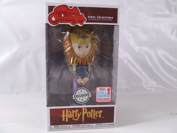 Rock Candy Harry Potter Luna Lovegood With Lion Head Exclusive Vinyl Collectable