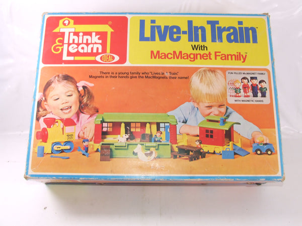 Ideal Live-In Train With MacMagnet Family Boxed Vintage 1970s Great Condition