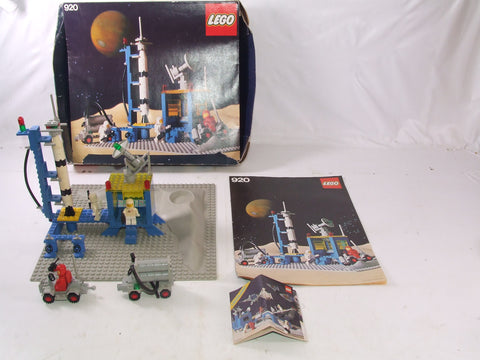 LEGO Legoland Classic Space Alpha-1 Rocket Base Boxed With Inst & Flyer No 920