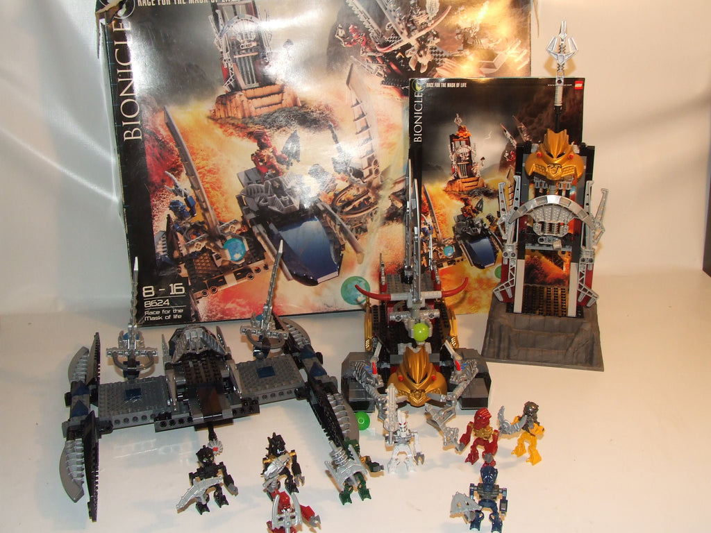 LEGO Bionicle Race For The Mask Of Life 100% Complete Boxed With Inst #8624