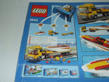 LEGO City Powerboat Transporter New & Sealed Age 3+ #4643