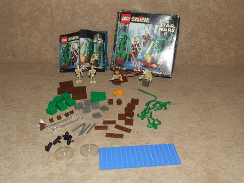 Lego Star Wars Nobboo Swamp # 7121 - Boxed With Instructions - 1999 - Vintage Retro And Vinyl - 1
