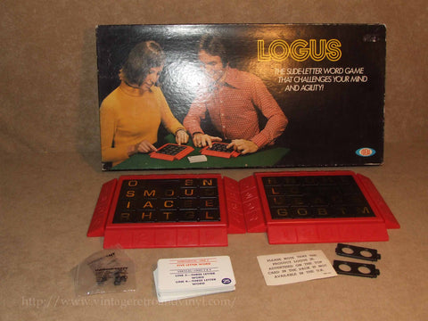 Logus Game Boxed & Complete - Ideal - Vintage 1971 Contents Partially Sealed - Vintage Retro And Vinyl - 1