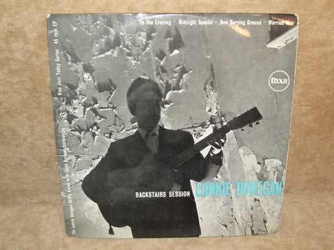 Lonnie Donegan Backstairs Session 4 Track EP PYE Nixa NJE 1014 Skiffle 1950s