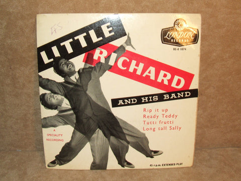"Little Richard And His Band Rip It Up 7"" EP Tri Centre Picture Sleeve"