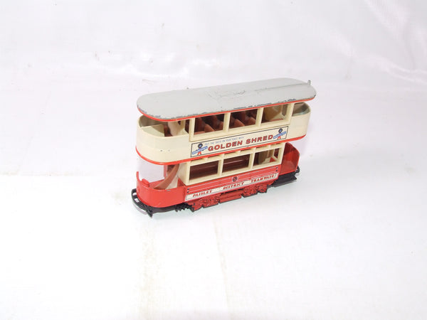 Matchbox Models Of Yesteryear Preston Type Tramcar Paisley District Golden Shred
