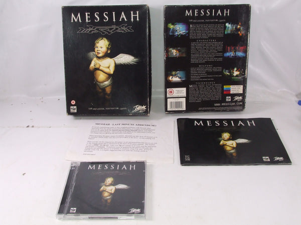 Messiah PC CD ROM Game Big Box Version Single Player Action Adventure Game