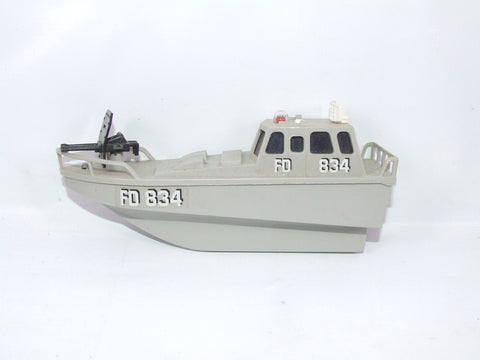 Majorette Sonic Flashers Military Boat Series 2350 Still Works !!
