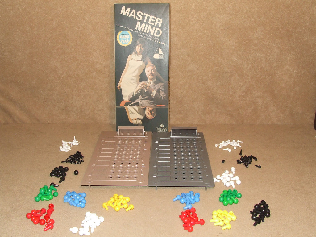 Two Mastermind Games In One Box By Invicta Games Complete Vintage 1972 Victoy - Vintage Retro And Vinyl - 1