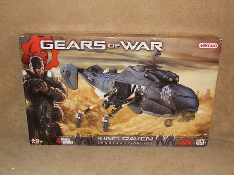 Meccano Gears Of War King Raven Construction Set Video Game Collectable BNIB
