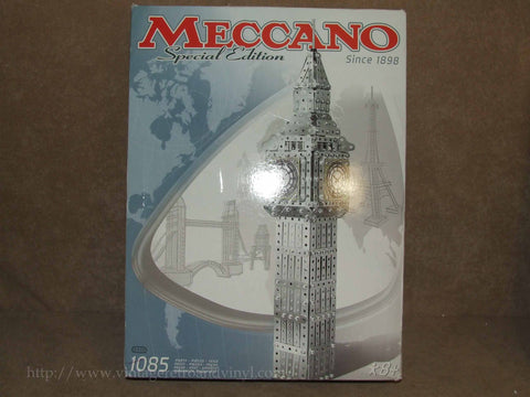 Meccano Special Edition Big Ben Un-Built Boxed & Complete With Inst. No 0512 - Vintage Retro And Vinyl - 1