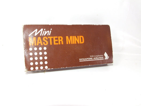 Mini Mastermind Exclusive Singapore Airlines Edition Complete With Instructions