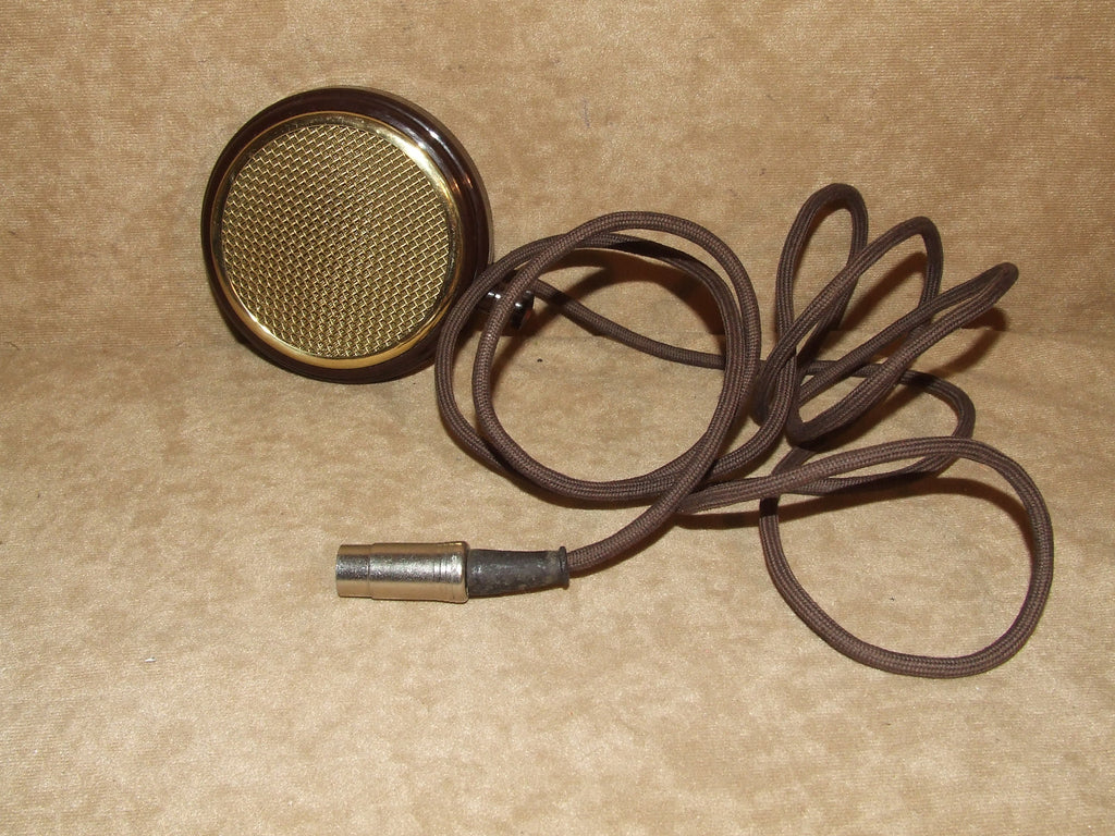 Bakelite Microphone Or Speaker With Cable Vintage Circa 1950's - Vintage Retro And Vinyl - 1