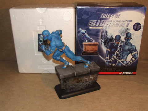 "Tales Of Midnight 7"" Resin Figure By Corgi Limited Edition Comic Book Figure - Vintage Retro And Vinyl - 1"