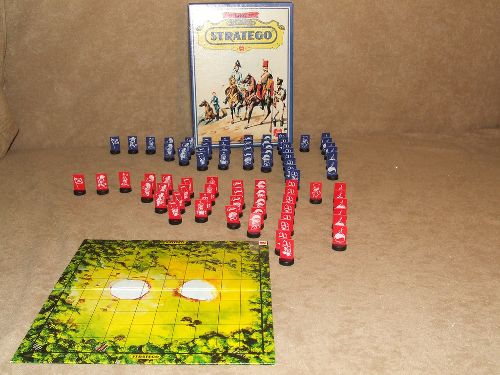 Mini Stratego Boxed And Complete By Jumbo Vintage 1978 2 Players Aged 12+ - Vintage Retro And Vinyl - 1