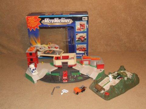Micro Machines Emergency Response HQ Boxed Complete & Swamp Snap Rally & Extras - Vintage Retro And Vinyl - 1