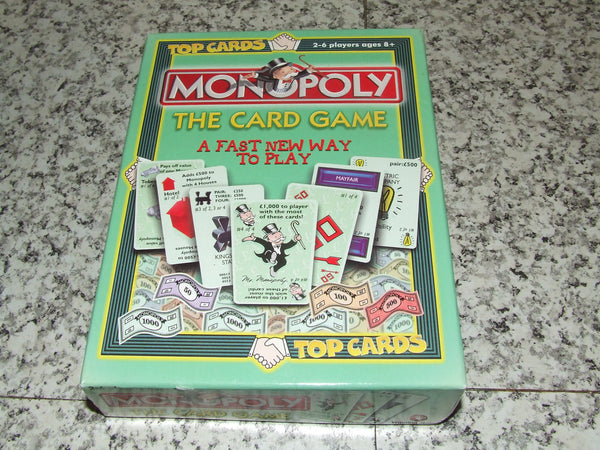Monopoly The Card Game 2 to 6 Players Aged 8+ Boxed - Vintage Retro And Vinyl - 1