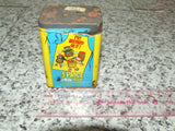 Colmans Mustard Tin And Contents Opened Paper Cover 1970's - Vintage Retro And Vinyl - 3